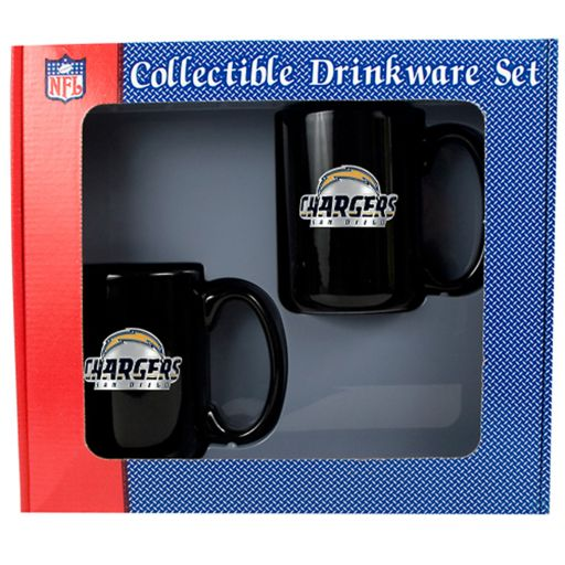 San Diego Chargers 2-pc. Mug Set