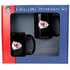 Kansas City Chiefs 2-pc. Mug Set
