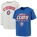 Youth Stitches Royal/White Chicago Cubs T-Shirt Combo Set