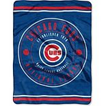 "The Northwest Company Chicago Cubs 60"" x 80"" Seam Oversized Plush Raschel Throw Blanket"