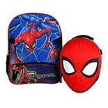 Boys Spider-Man Backpack with Molded Lunch Bag
