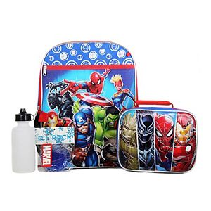 Boys Marvel 5-piece Backpack Set