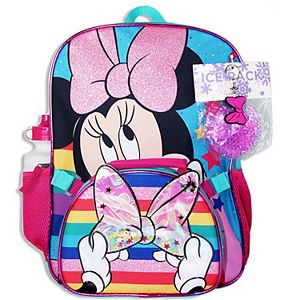 Disney's Minnie Mouse Girls 5-piece Backpack Set