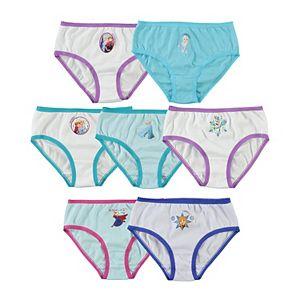 Girls 4-8 Disney's Frozen 2 7-Pack Days of the Week Underwear Set