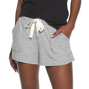 Women's Sonoma Goods For Life® Essential Rib Sleep Shorts