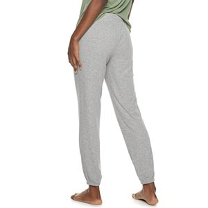 Women's Sonoma Goods For Life® Essential Rib Banded Sleep Pants