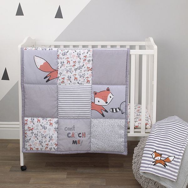 Boys Little Love By Nojo Lil Fox 3, Fox Bedding Set