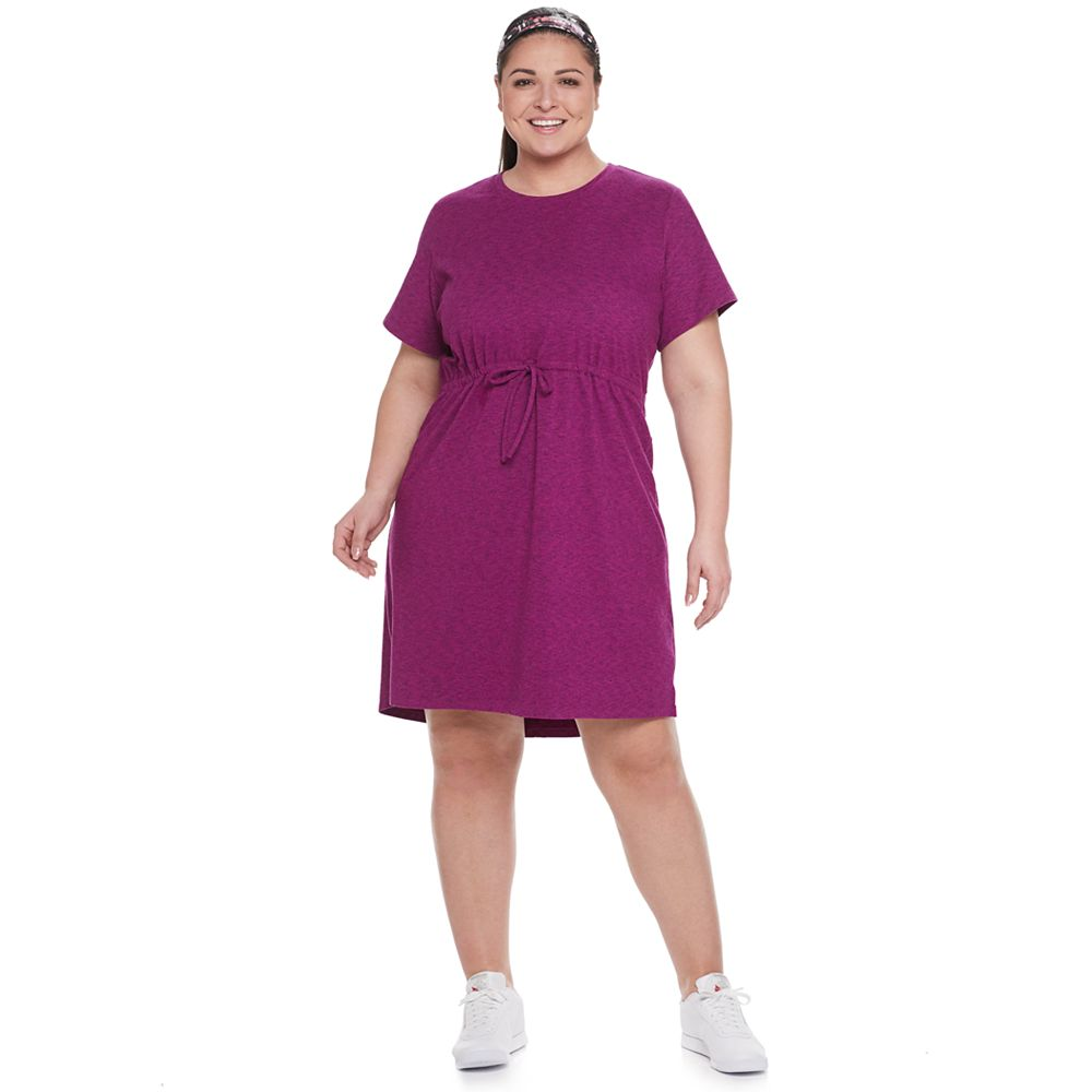 Plus Size Tek Gear® Active Cinch Waist Dress