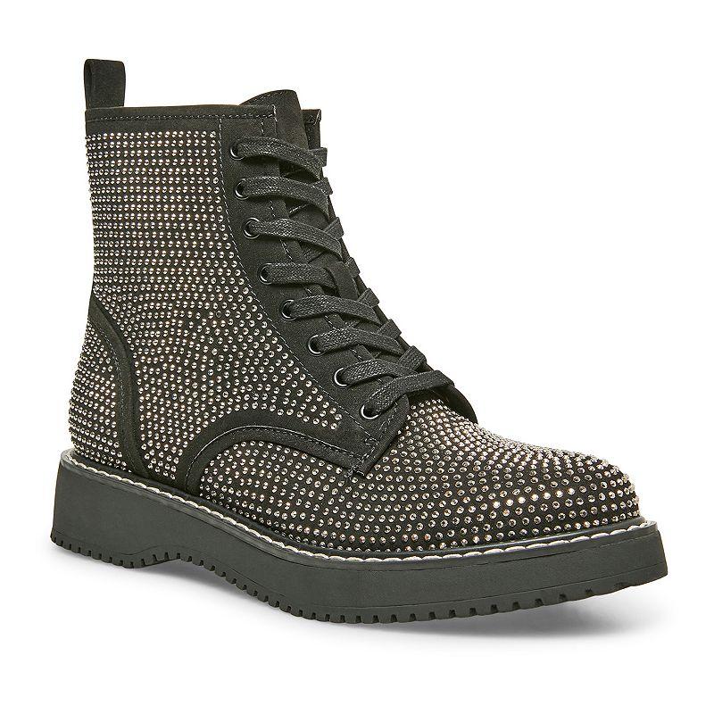 madden girl Kurrt Women's Combat Boots, Size: 8.5, Grey
