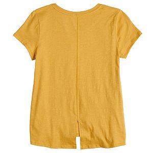 Girls 7-16 & Plus SO® Sequin Graphic Tee