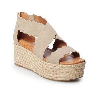indigo rd. Haper Women's Platform Wedge Sandals