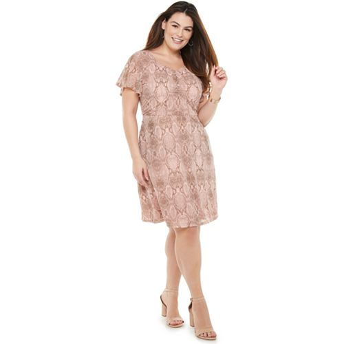 Plus Size EVRI™ Shirred Front Dress