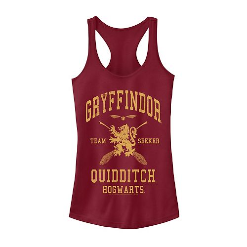 HARRY POTTER Mens Quidditch at Hogwarts Tank Top