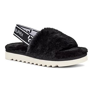Koolaburra by UGG Fuzz'n Girls' Slide Sandals