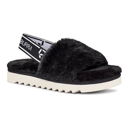 Koolaburra by UGG Fuzz'n Girls' Slide Sandals
