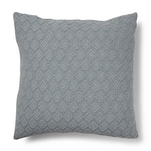 Sonoma Goods For Life® Stone Washed Diamond Feather Fill Oversized Throw Pillow