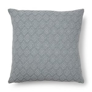Sonoma Goods For Life Stone Washed Diamond Feather Fill Throw Pillow
