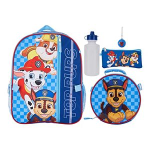 Paw Patrol 5-piece Backpack & Lunch Bag Set