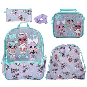 Girls 5-piece L.O.L. Surprise! Backpack Set