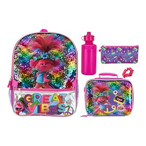 Dreamworks Trolls 5-piece Backpack & Lunch Bag Set