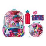 Dreamworks Trolls 5-piece Backpack & Record Lunch Bag Set