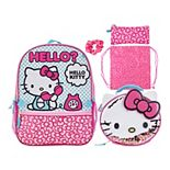 Hello Kitty! Girls 5-piece Backpack Set