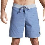 Men's United By Blue Printed Scallop Board Shorts
