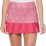 Women's Grand Slam Mini Floral Flounce Skort