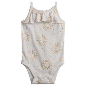 Baby Girl Jumping Beans® Ruffled Bodysuit