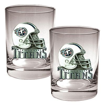 Tennessee Titans 2-pc. Rocks Glass Set