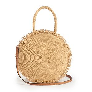 LC Lauren Conrad Cookie Fringe Crossbody Bag