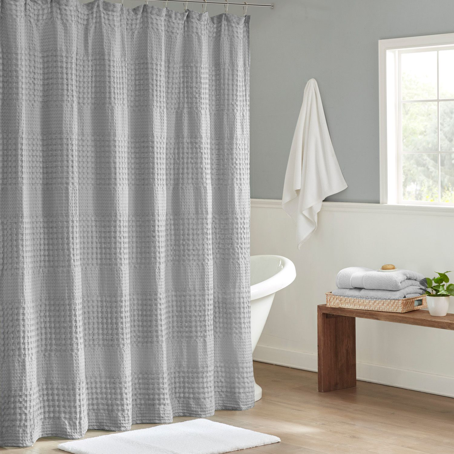 brown shower curtains kohl s