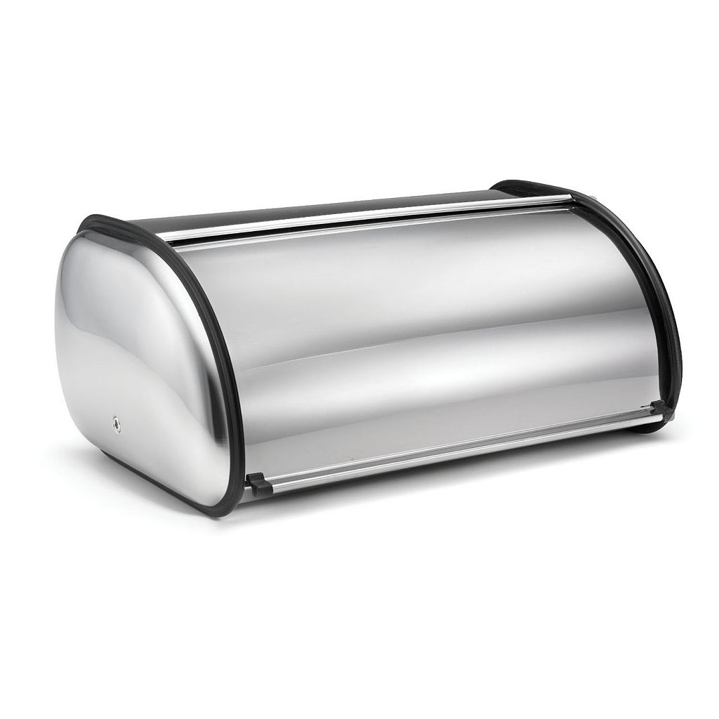 Stainless Steel Deluxe Bread Bin