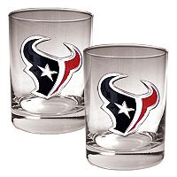 Houston Texans 2-pc. Rocks Glass Set