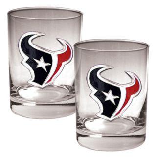 Houston Texans 2-pc. Rocks Glass Set