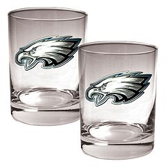 Philadelphia Eagles 2-pc. Rocks Glass Set
