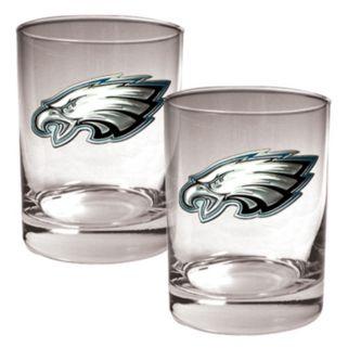 Philadelphia Eagles 2-pc. Rocks Glass Set