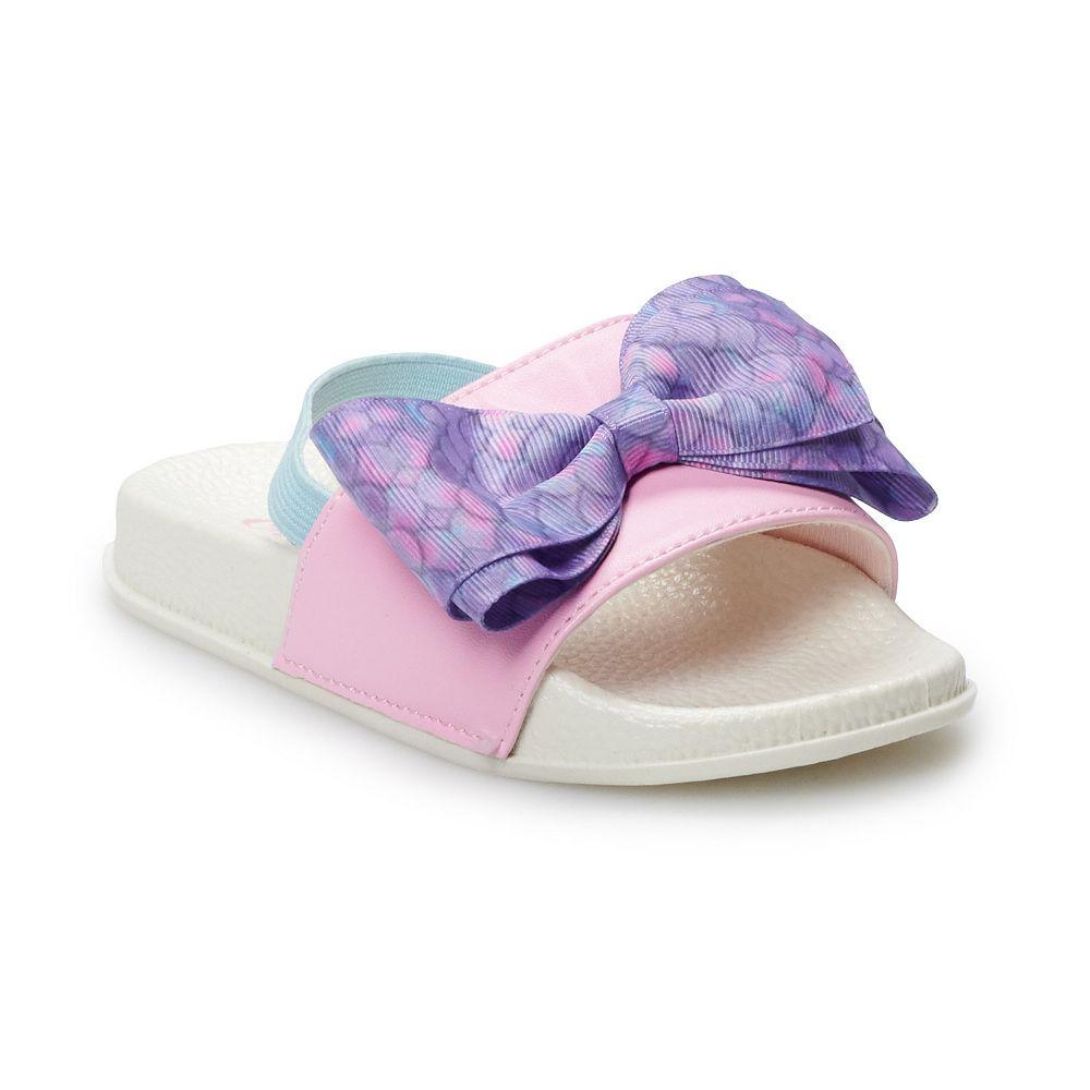 JoJo Siwa Mermaid Toddler Girls' Slide Sandals