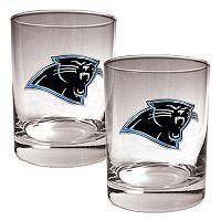 Carolina Panthers 2-pc. Rocks Glass Set