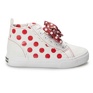 Disney's Minnie Mouse Girls' High Top Shoes