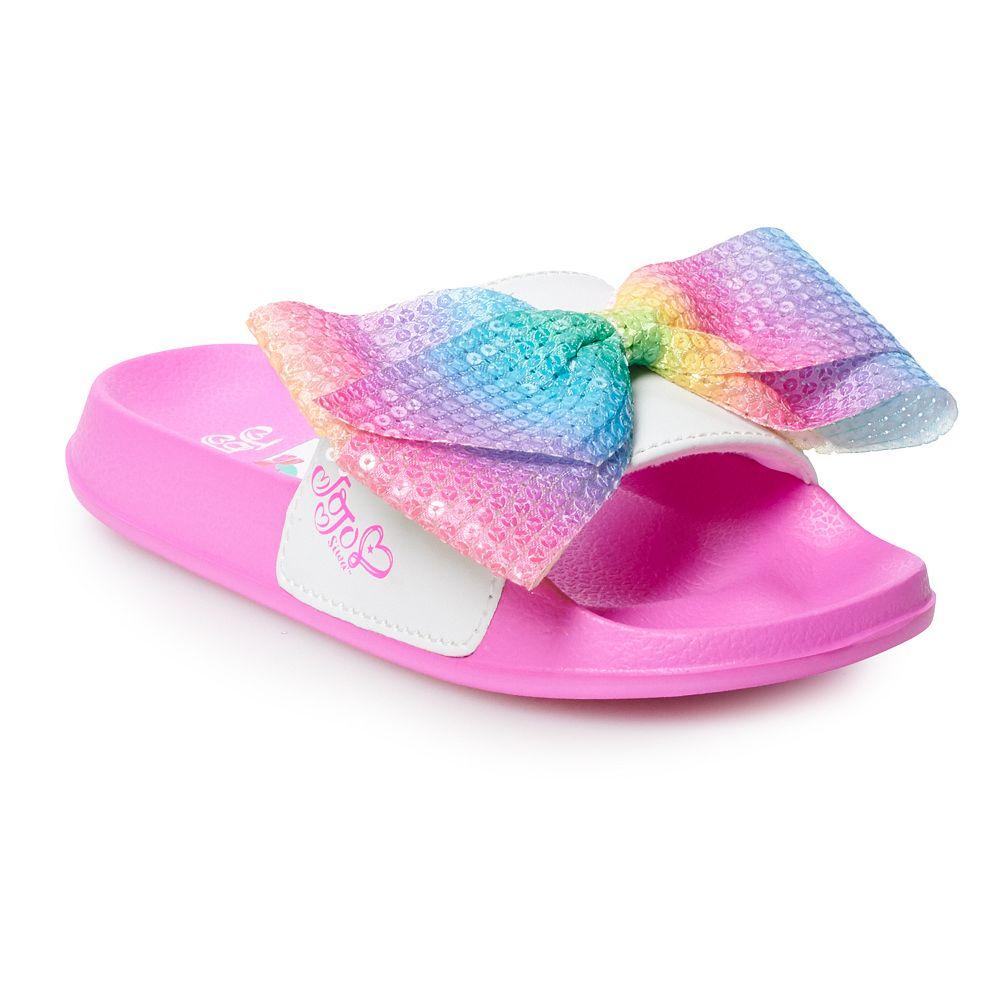JoJo Siwa Unicorn Girls' Slide Sandals