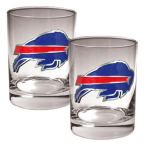 Buffalo Bills 2-pc. Rocks Glass Set