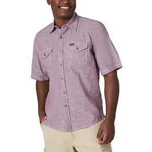 Men's Wrangler Button-Down Shirt