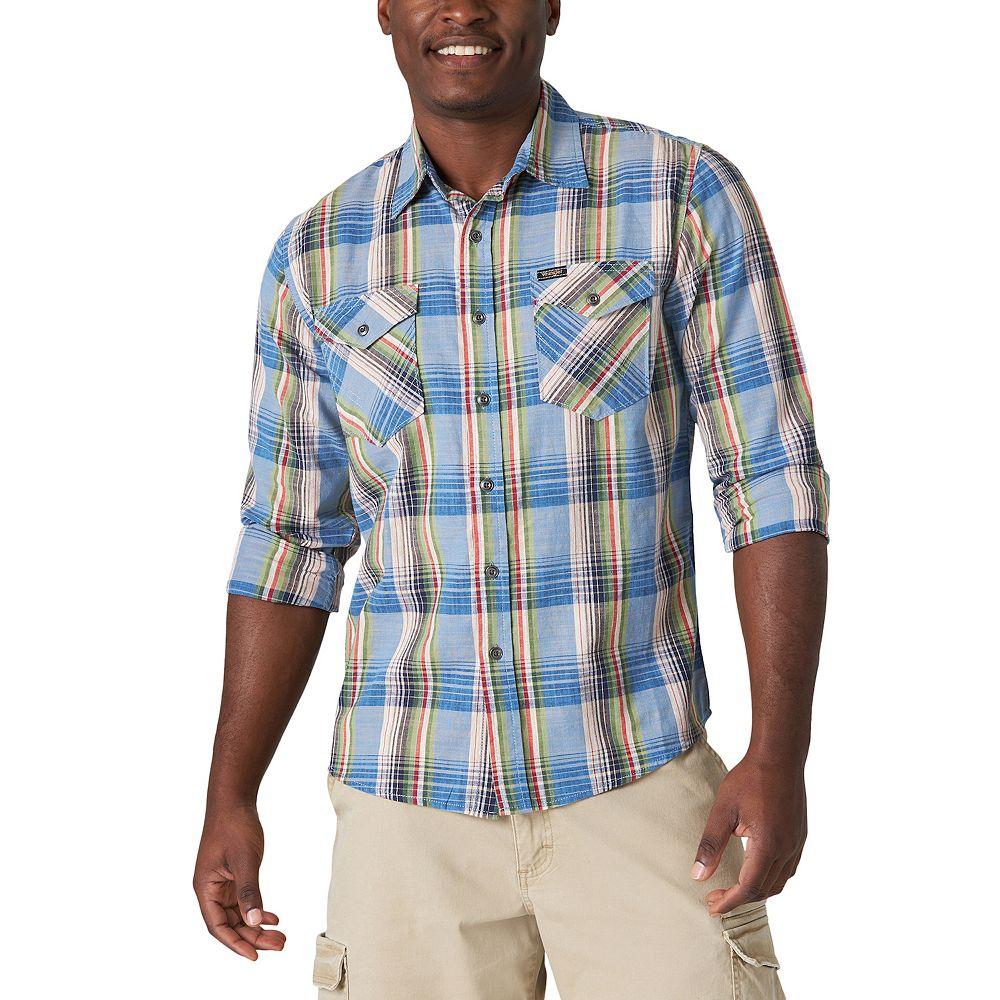 Men's Wrangler Button Down Shirt