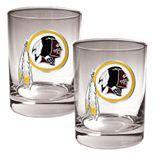 Washington Redskins 2-pc. Rocks Glass Set