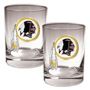 Washington Redskins 2-pc. Rocks Glass Set