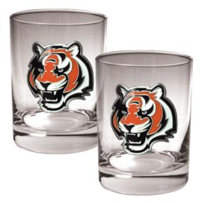 Cincinnati Bengals 2-pc. Rocks Glass Set