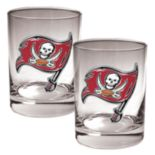Tampa Bay Buccaneers 2-pc. Rocks Glass Set