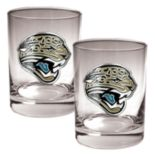 Jacksonville Jaguars 2-pc. Rocks Glass Set