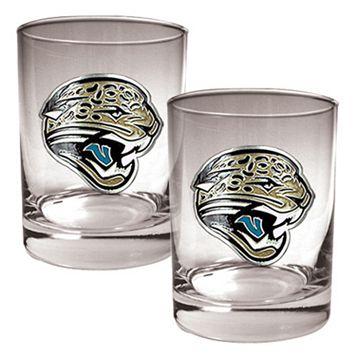 Jacksonville Jaguars 2-pc. Rocks Glass Set